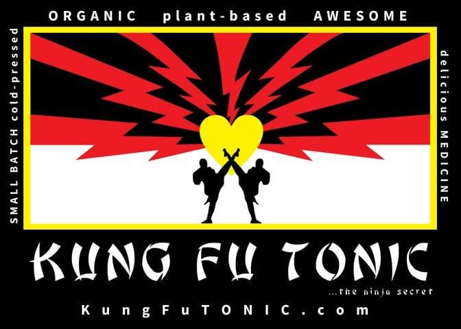 kung fu tonic postcard