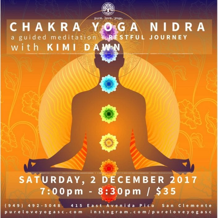 chakra yoga nidra dec 2017