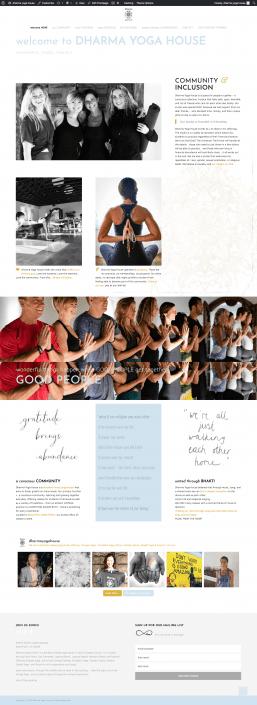 dharma yoga house dana point website
