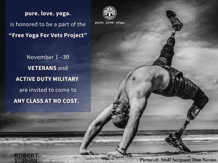 free yoga for vets sturman nov 2017