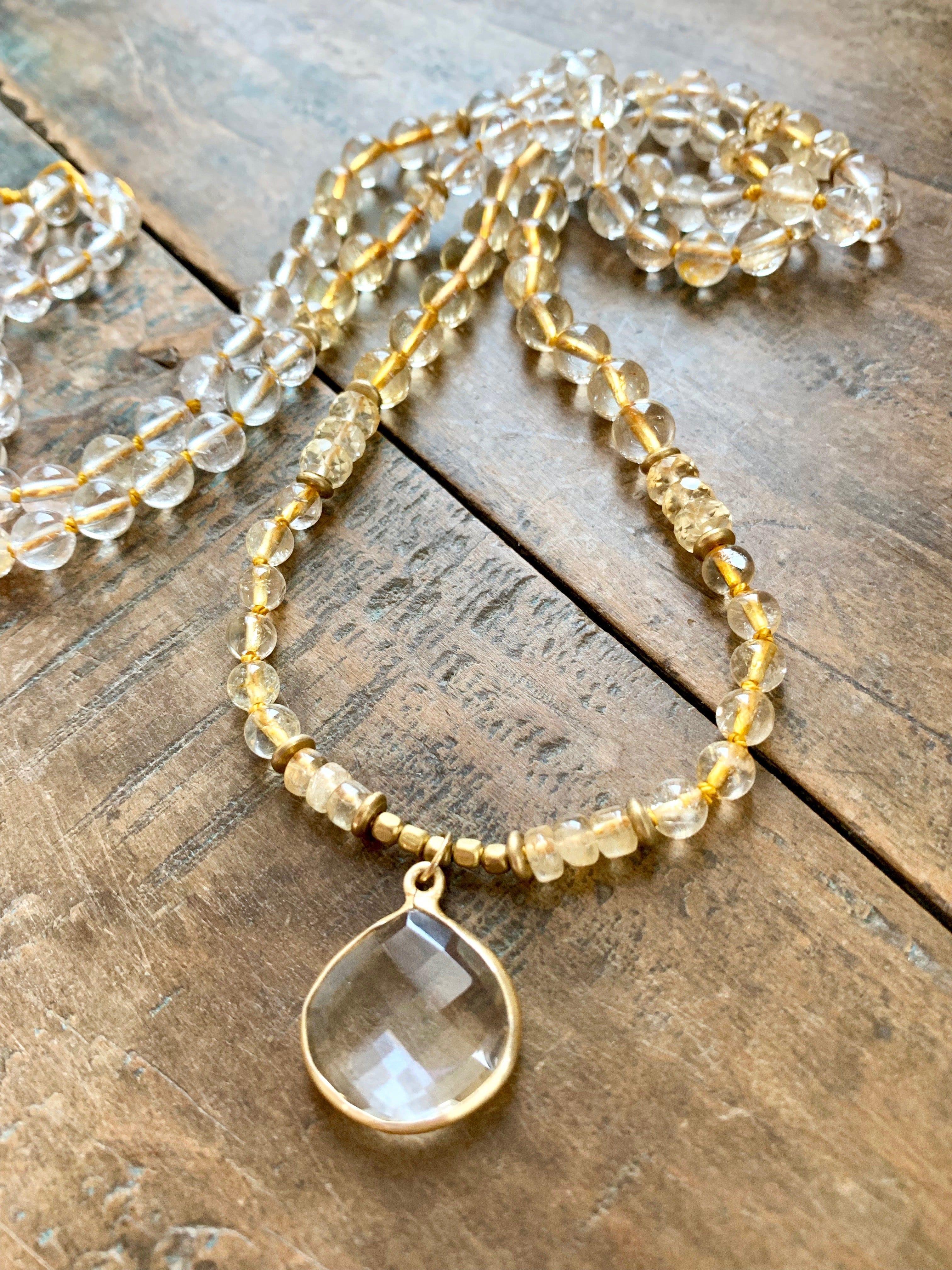 citritne-gold-rutile-quartz-mala